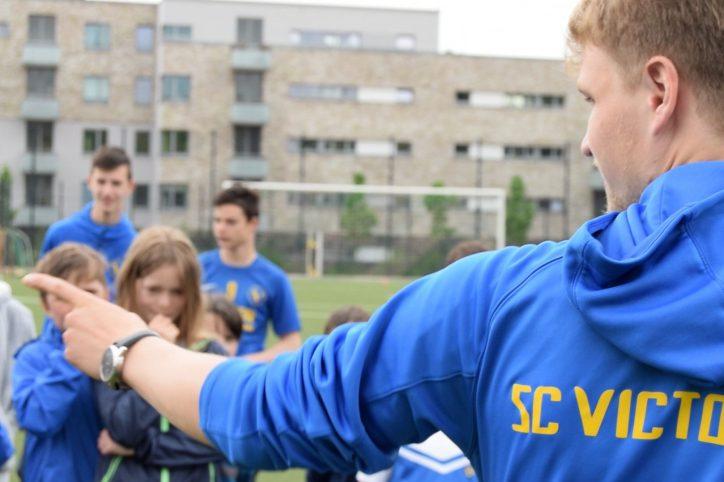 SC Victoria Jugendtrainer gesucht Stellenanzeige