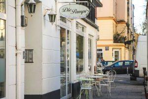 """Das """"Die Pampi Café"""" im Hellkamp hat heute zum letzten Mal geöffnet. Foto: Vanessa Leitschuh"""