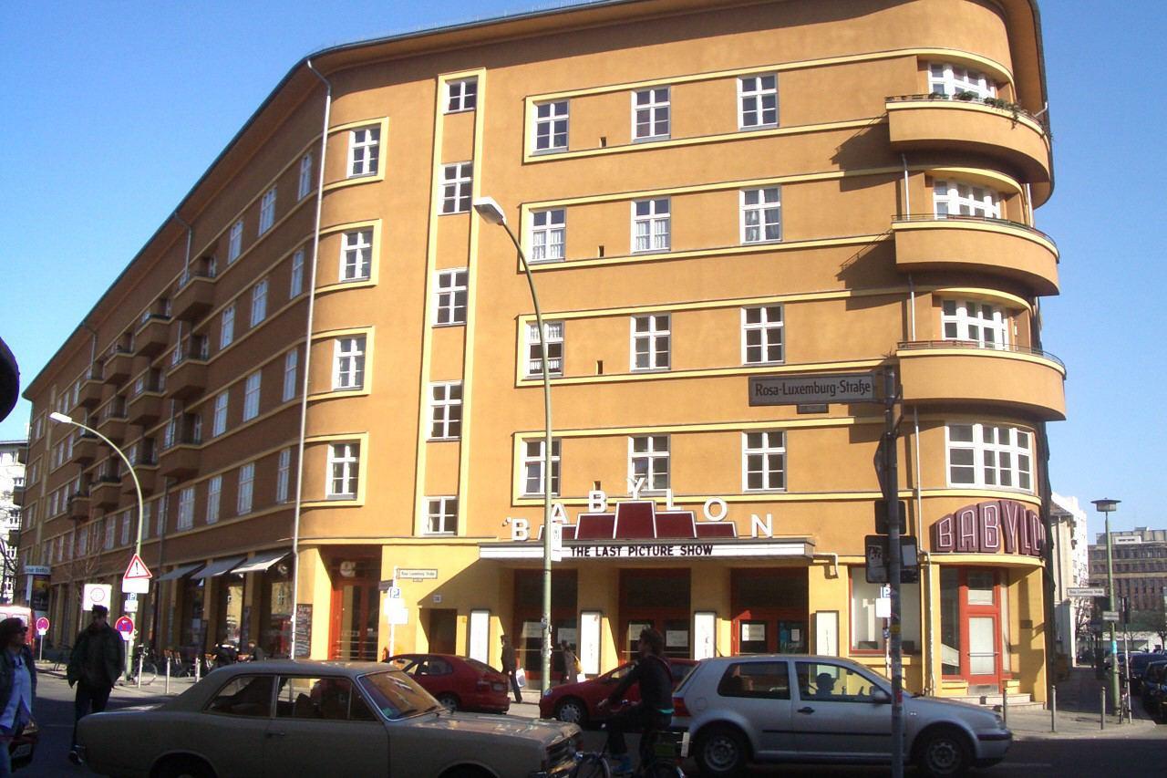 Das Berliner Babylon, Premierentheater des Films. Foto: Andreas Praefcke