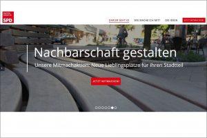 Screenshot Initiative Nachbarschaft gestalten