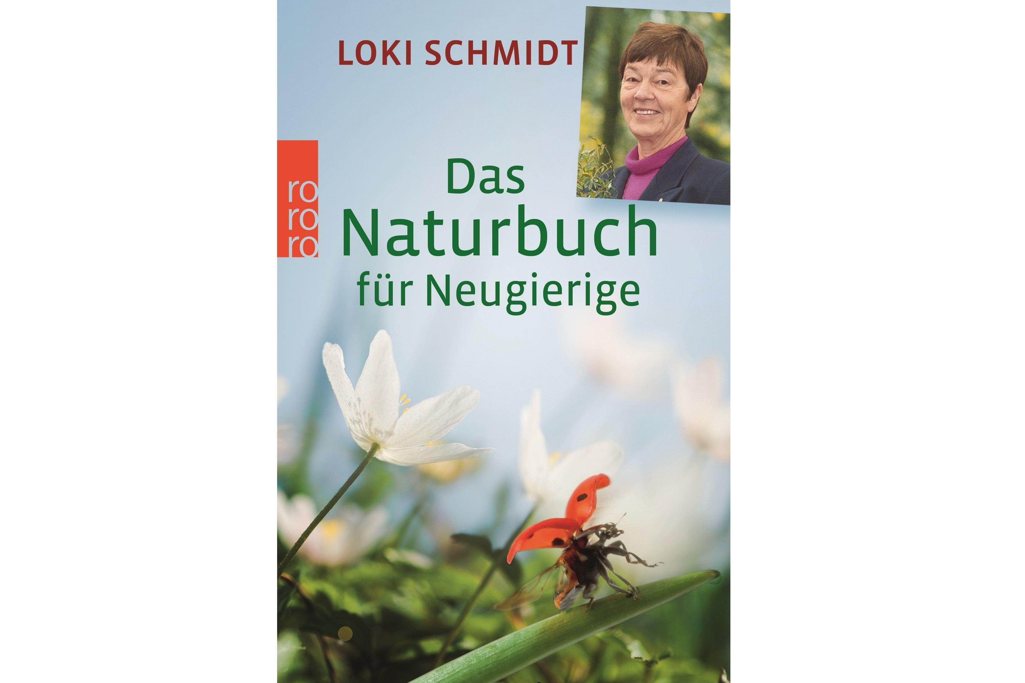 Loki Schmidt und Lothar Frenz schreiben eine Einführung in die Natur: Das Naturbuch für Neugierige.