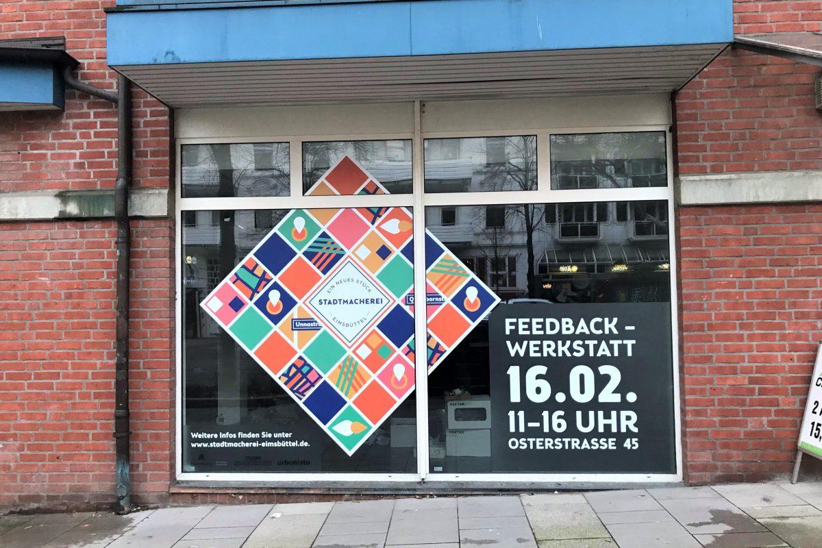 Stadtmacherei Laden in der Osterstraße.