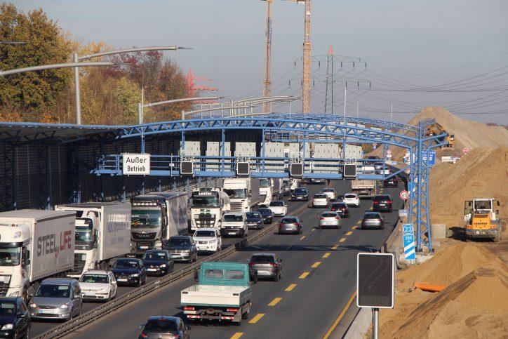 A7: Auffahrten Eidelstedt und Stellingen werden gesperrt