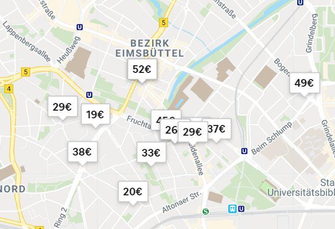 Auch für Vermietungen über Plattformen wie Airbnb muss ab jetzt eine Wohnraumschutznummer beantragt werden. Quelle: www.airbnb.de