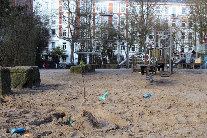 Ophagen: Heroin auf Spielplatz versteckt