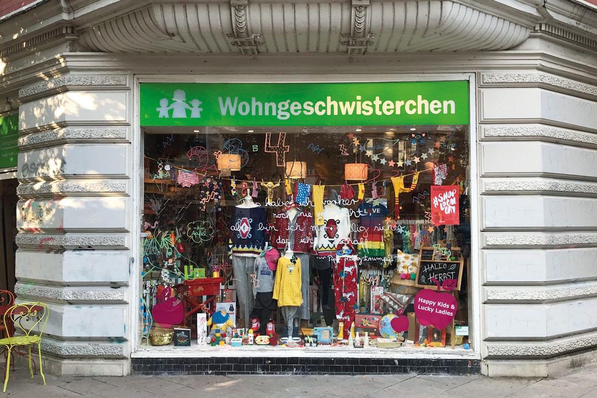 Wohngeschwisterchen - Kinderladen, Modeladen, Lifestyleladen in Schanzenviertel