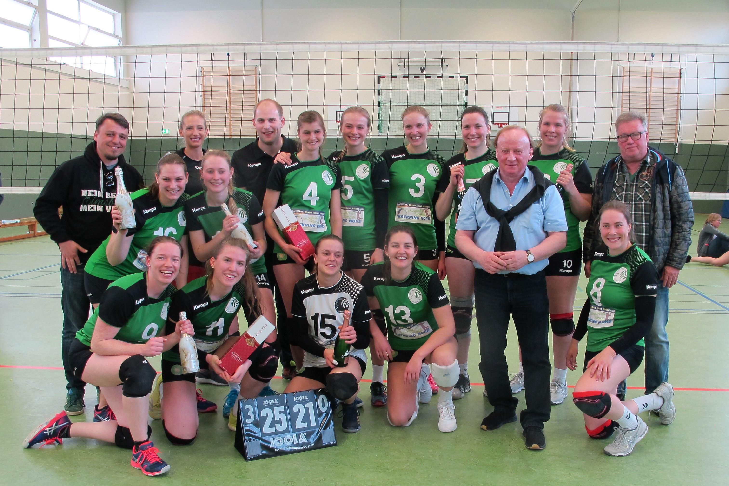 GWE-Volleyball-Damen sind Regionalliga-Meister