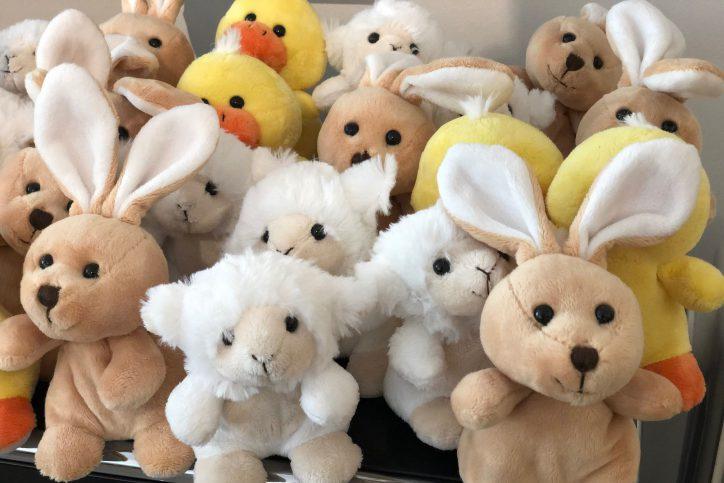Bei der HDI Hauptvertretung gibt es zu Ostern Kücken, Hasen und Schafe. Foto: HDI Markus Ridder
