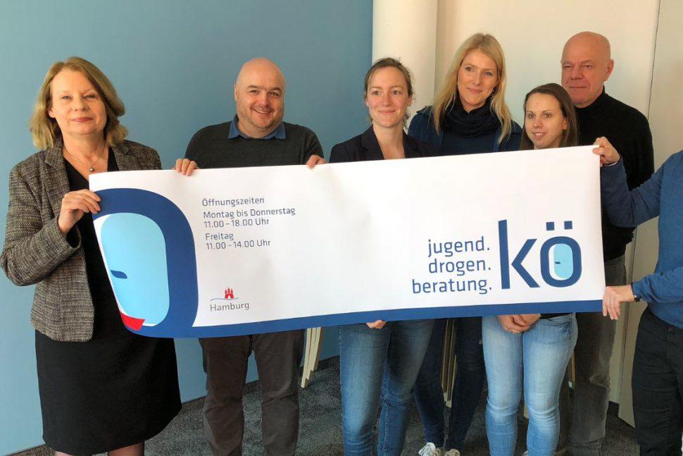 Beratungsstelle: Besuch der Gesundheitssenatorin Cornelia Prüfer-Storcks