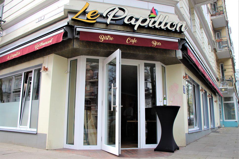 """In Eimsbüttel eröffnet mit """"Le Papillon"""" ein neues Restaurant. Foto: Anna Korf"""