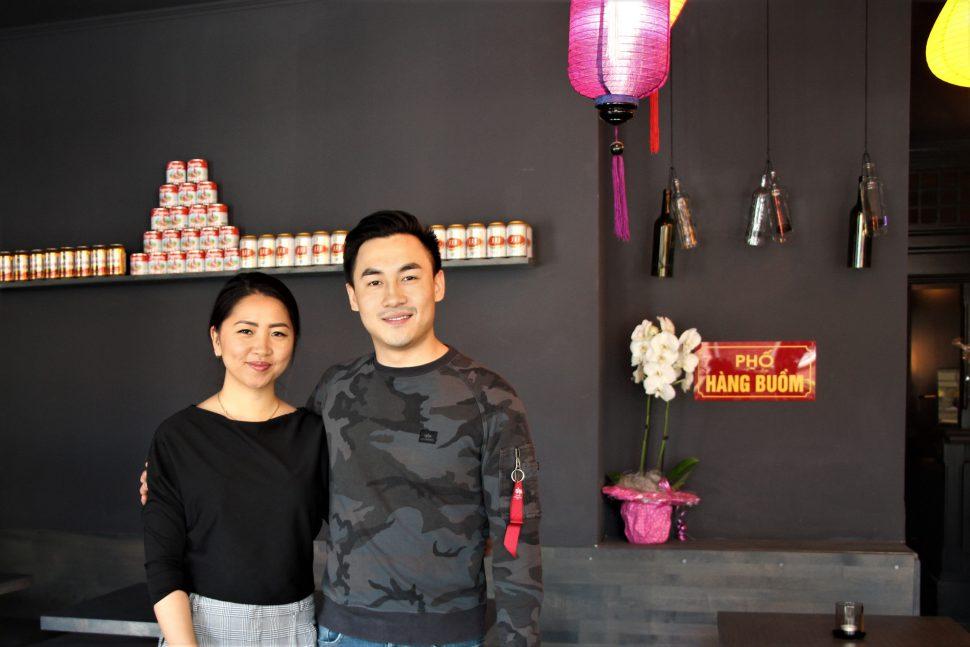 """Nguyen Dang Nguyen leitet das """"Anici"""" zusammen mit seiner Freundin Huyen Do Thi. Foto: Anna Korf"""