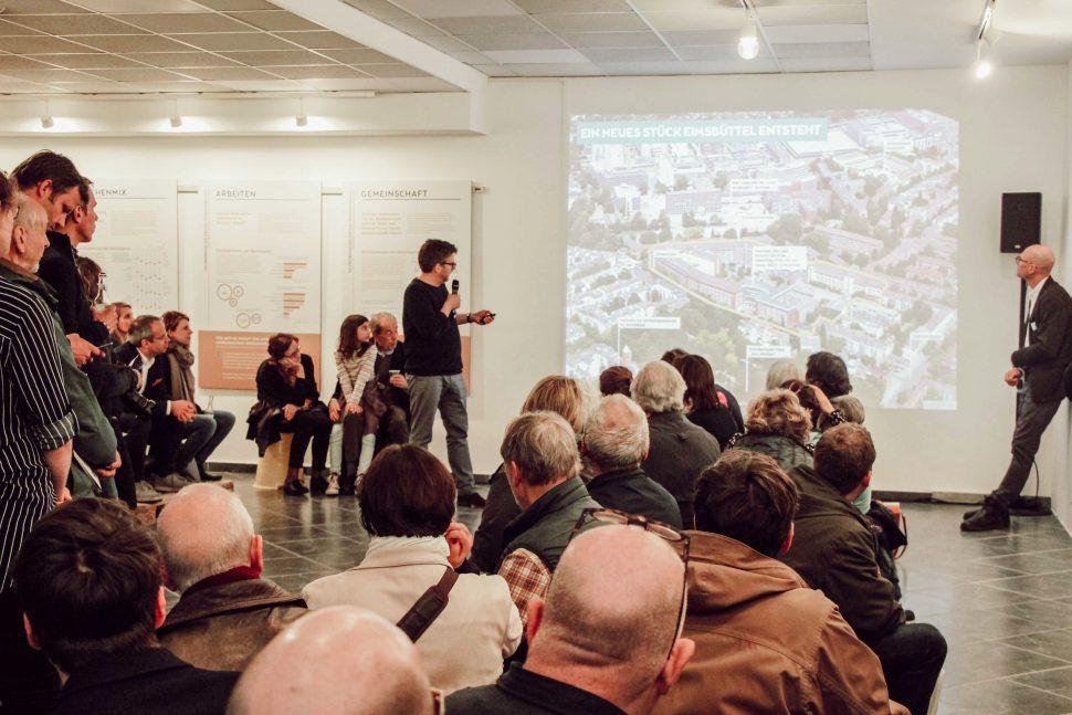 Stadtmacherei: Vorstellung der Planungsteams. Foto: Vanessa Leitschuh