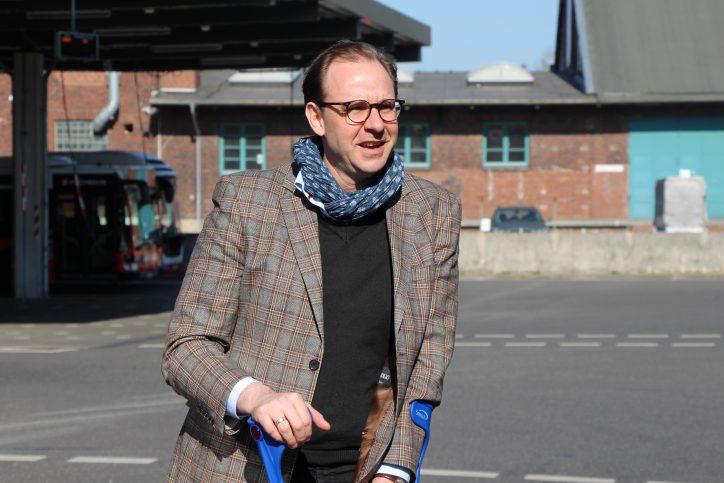 Hochbahn-Chef Henrik Falk. Foto: Catharina Rudschies