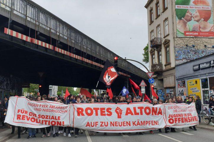 Der Demonstrationszug