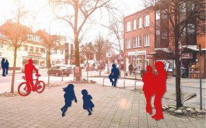 Bei der zukünftigen Gestaltung des Schnelsener Zentrums werden die Bürger aktiv einbezogen. Foto: steg Hamburg mbH