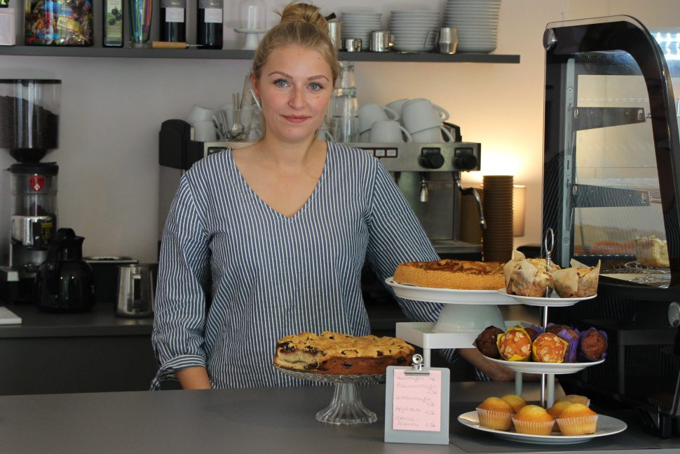 "Carina Dreher, Inhaberin des ""Mia Mio"". Foto: Alicia Wischhusen"