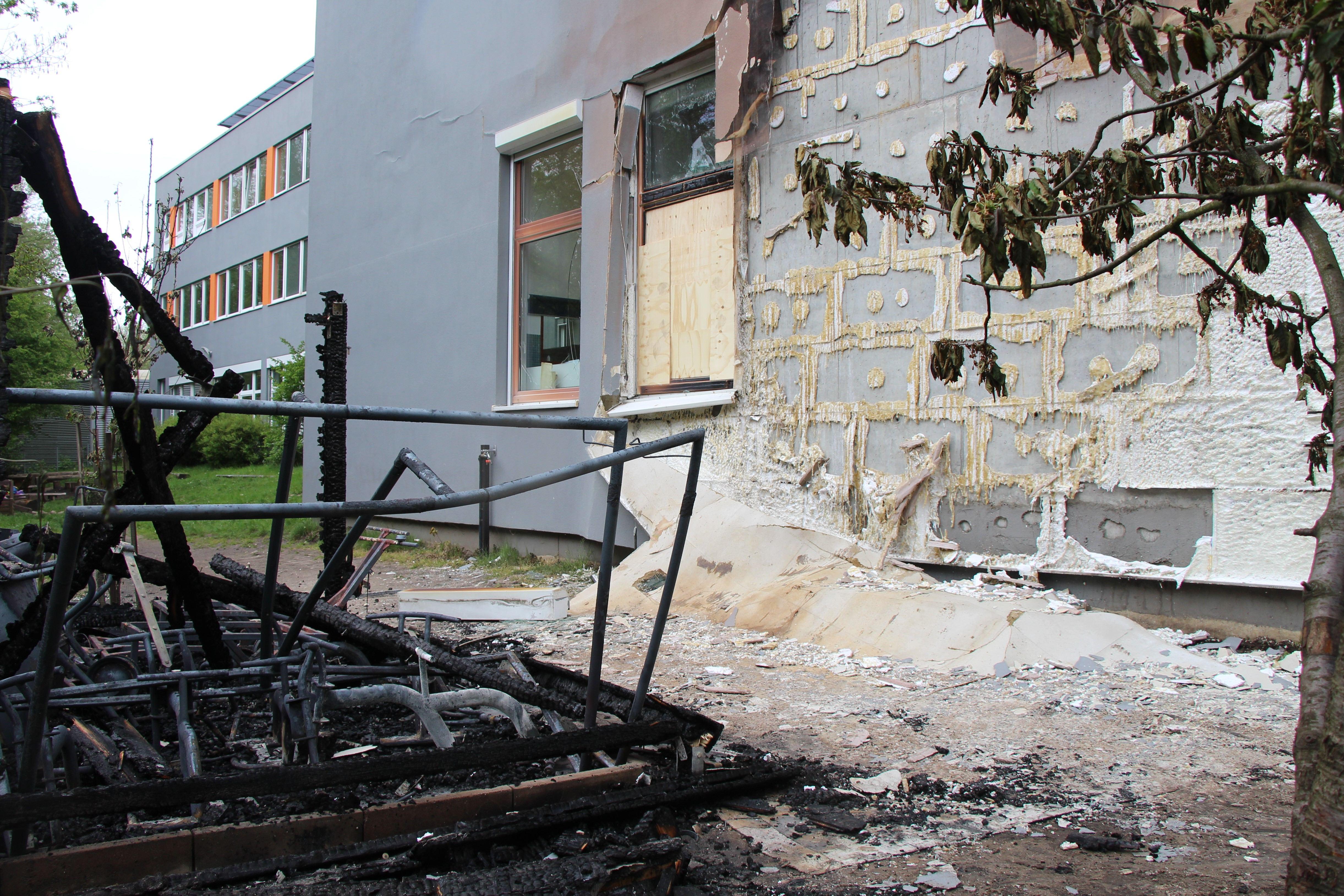 "Feuer bei Lokstedter Kita ""Mucklas"" und UKE-Akademie"