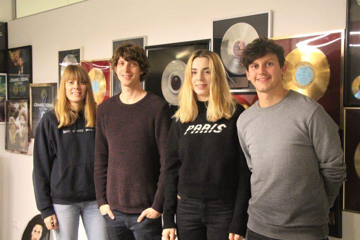 2013 gewann Tonbandgerät den HANS – Der Hamburger Musikpreis als bester Hamburger Nachwuchs des Jahres. Foto: Alicia Wischhusen