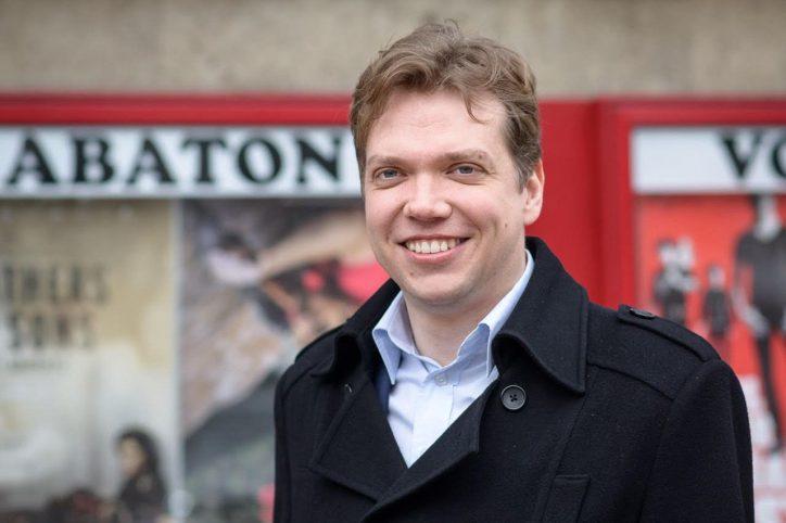 Gabor Gottlieb ist Spitzenkandidat der SPD für die Bezirkswahl in Eimsbüttel. Foto: Rainer Wiemers