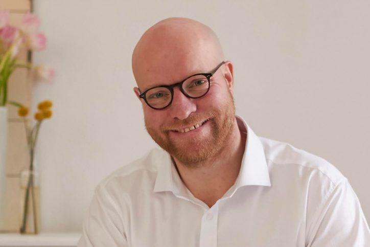 Andreas Moring, Hamburger FDP-Kandidat für die Europawahl. Foto: Clara Kirchner.