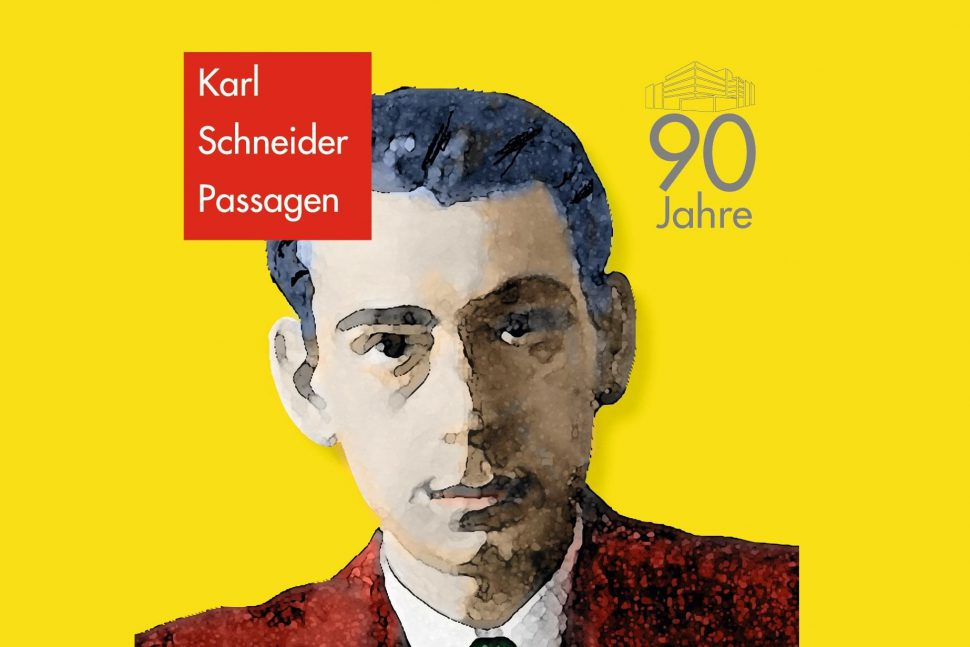 Karl-Schneider-Passage Jubiläum Foto: Peter Vopelius