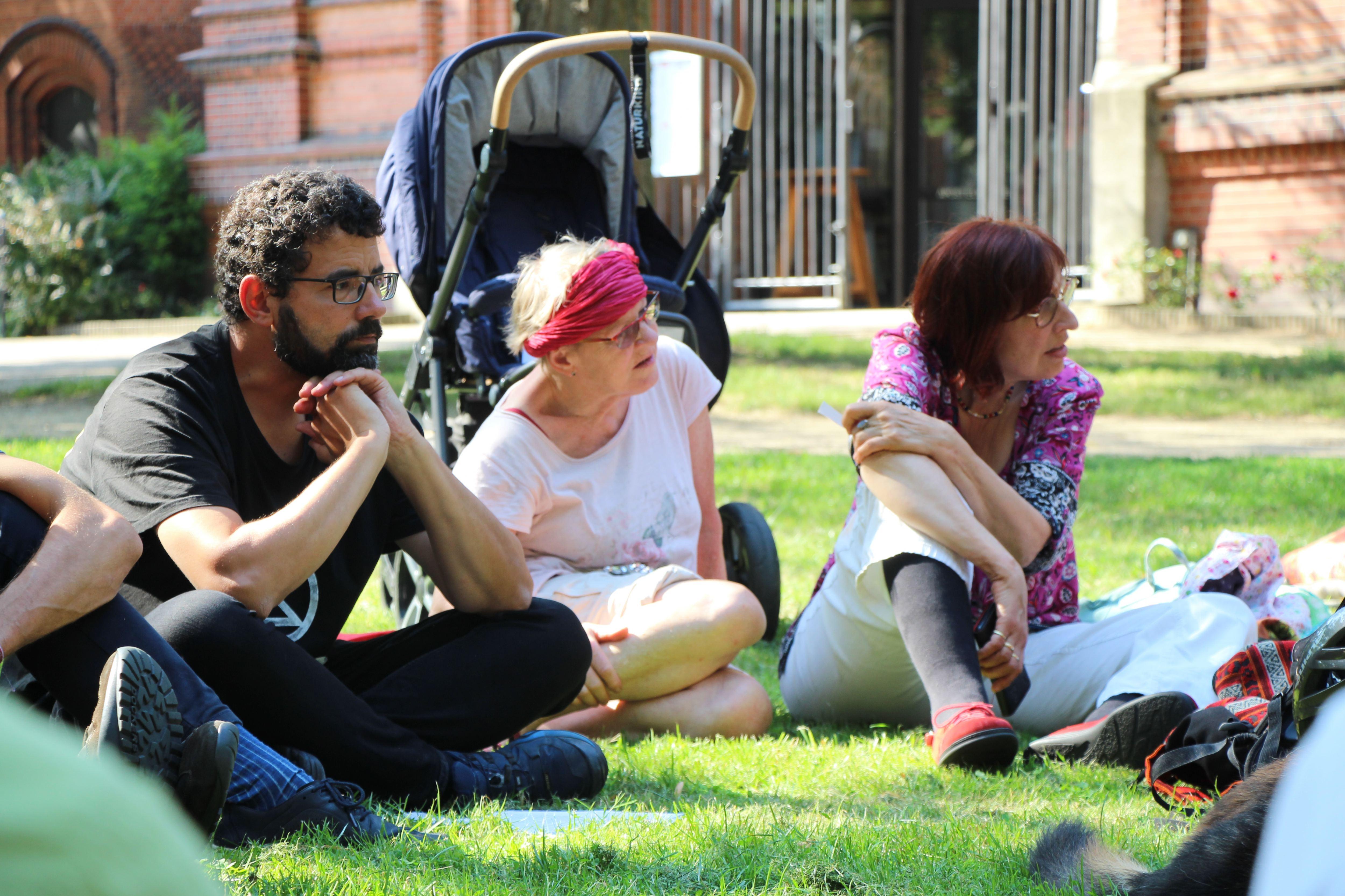 Die Bewegung umfasst Aktivisten aller Altersklassen. Foto: Catharina Rudschies