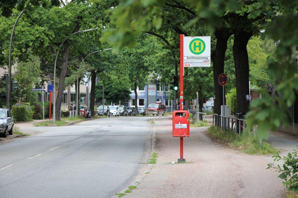 Veloroutenausbau: Die Stresemannallee wird ab Anfang August in Abschnitten voll gesperrt. Foto: Catharina Rudschies