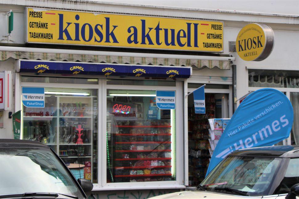 Einer von Fünf: Dieser Kiosk wurde Anfang August überfallen. Foto: Catharina Rudschies