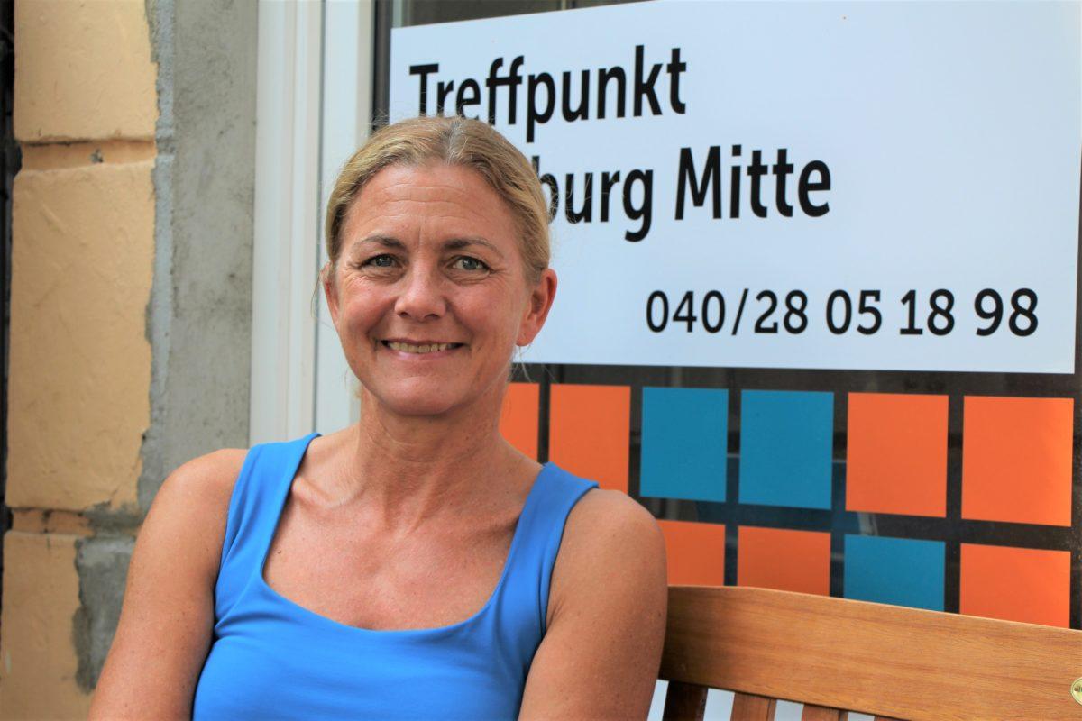 Christine Tenbrink, Leiterin des Sozialkontor-Treffpunkts Hamburg-Mitte in Eimsbüttel. Foto: Catharina Rudschies