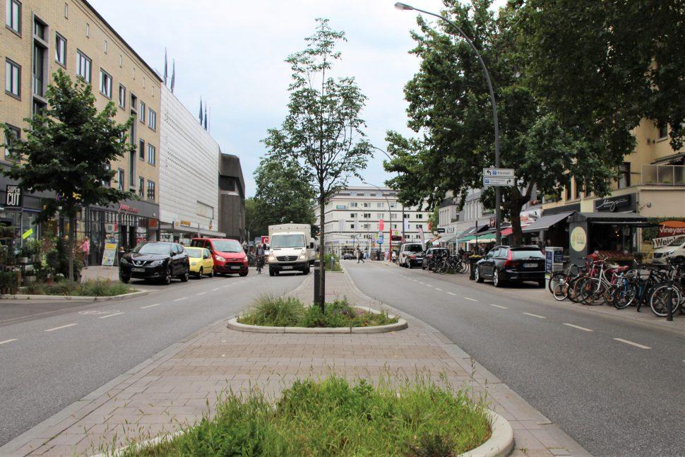 Wie wirksam ist der Umbau der Osterstraße? Foto: Catharina Rudschies