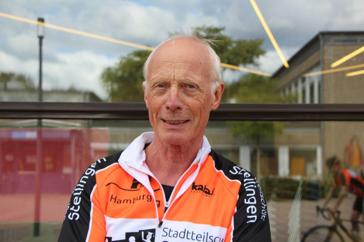 Projektleiter Ralf Hinke entdeckte den Raddiebstahl am 16. September. Foto: Bianca Multerer