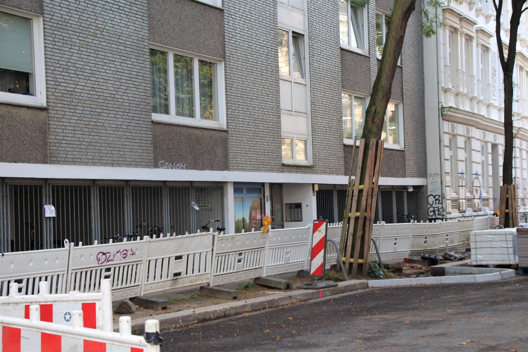 Razzia in der Bismarckstraße: Verdacht auf Terrorfinanzierung. Foto: Vanessa Leitschuh