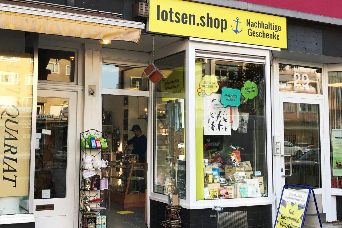 Hamburg Eimsbuettel Lotsenshop Laden