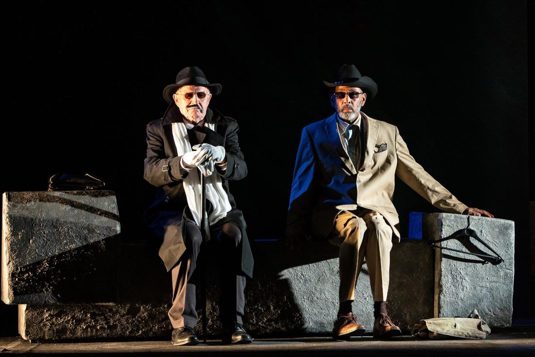 Ich bin nicht Rappaport von Herb Gardener an den Hamburger Kammerspielen. Foto: Bo Lahola