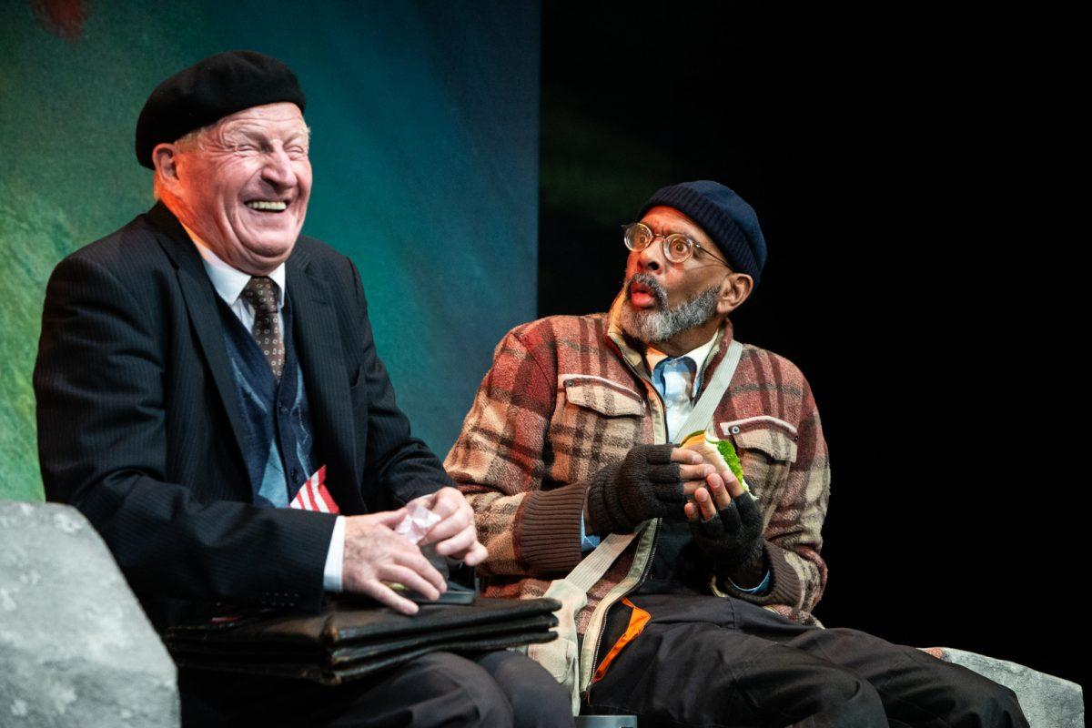 Ich bin nicht Rappaport von Herb Gardener an der Hamburger Kammerspielen. Foto: Bo Lahola