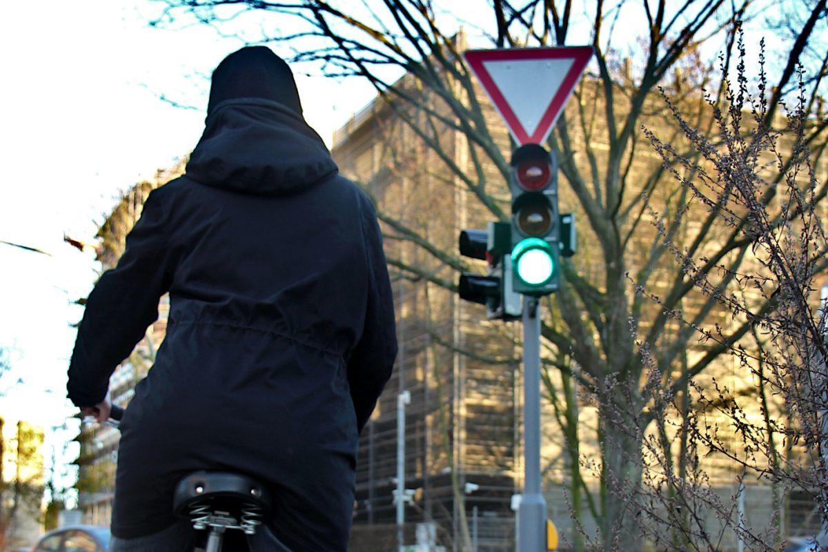 Die Grüne Welle für Radfahrer soll in Eimsbüttel als Pilotprojekt getestet werden.