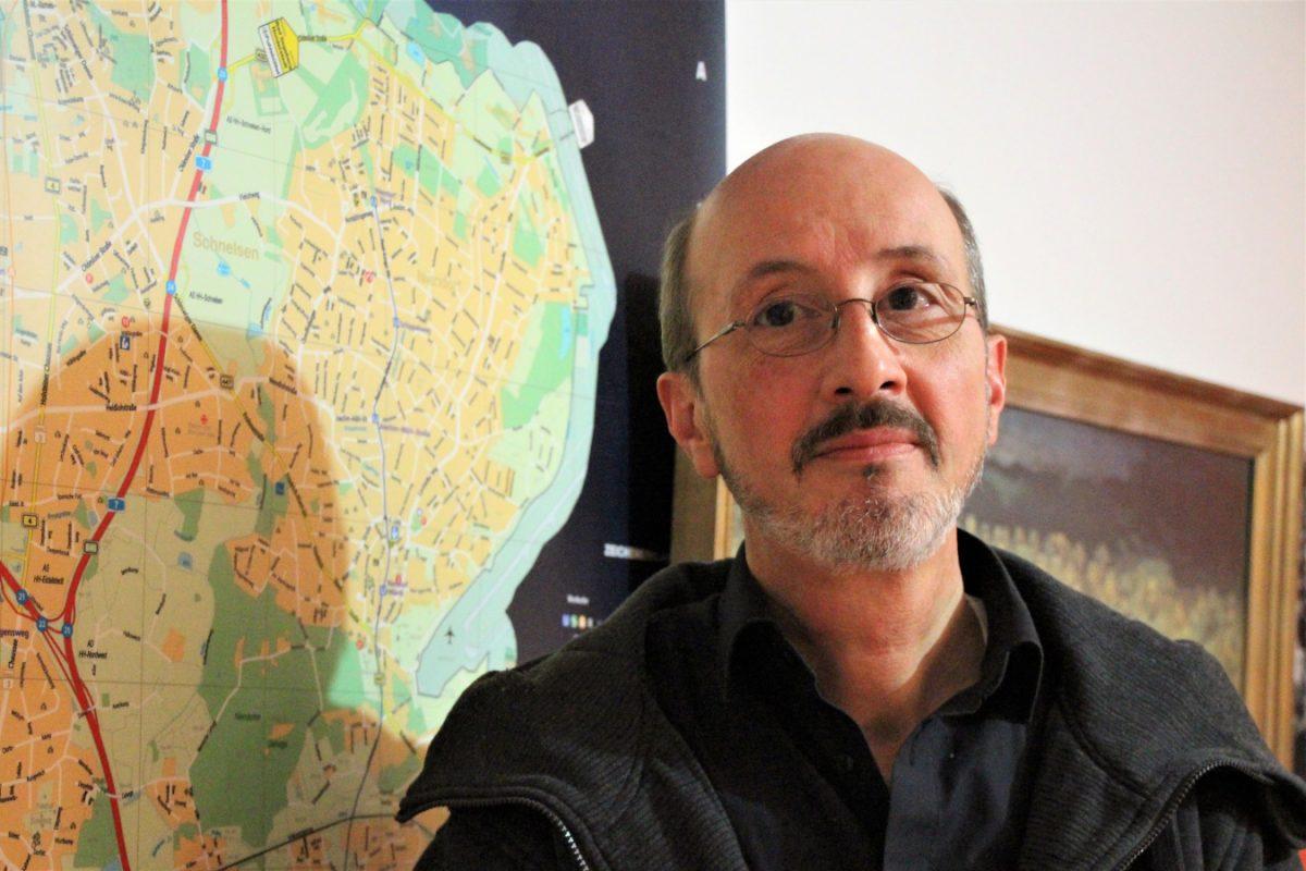 Roland Wiegmann, Geschäftsführer Linksfraktion Eimsbüttel. Foto: Sophia Kleiner