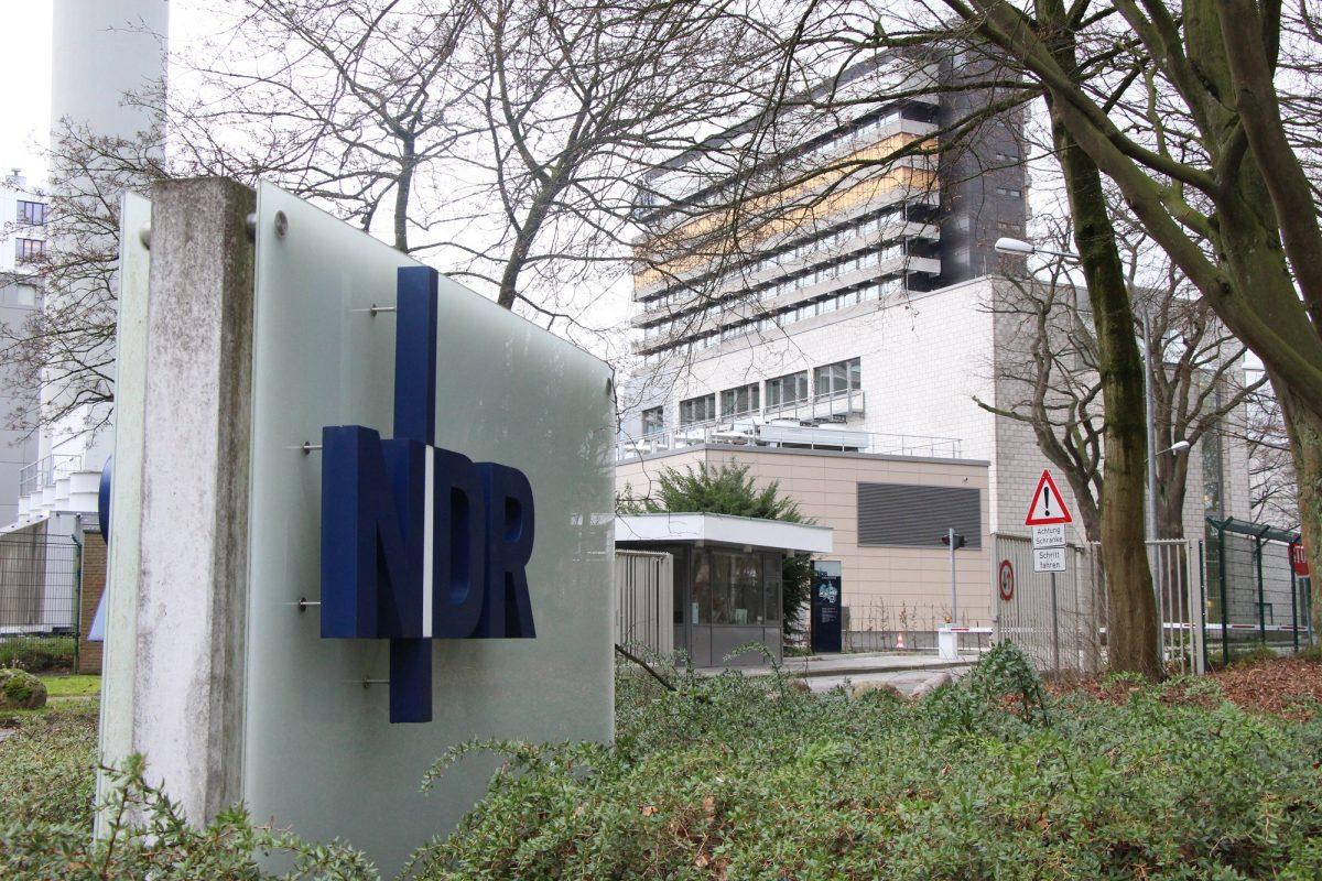 Auch am NDR-Standort in Lokstedt wird gestreikt.