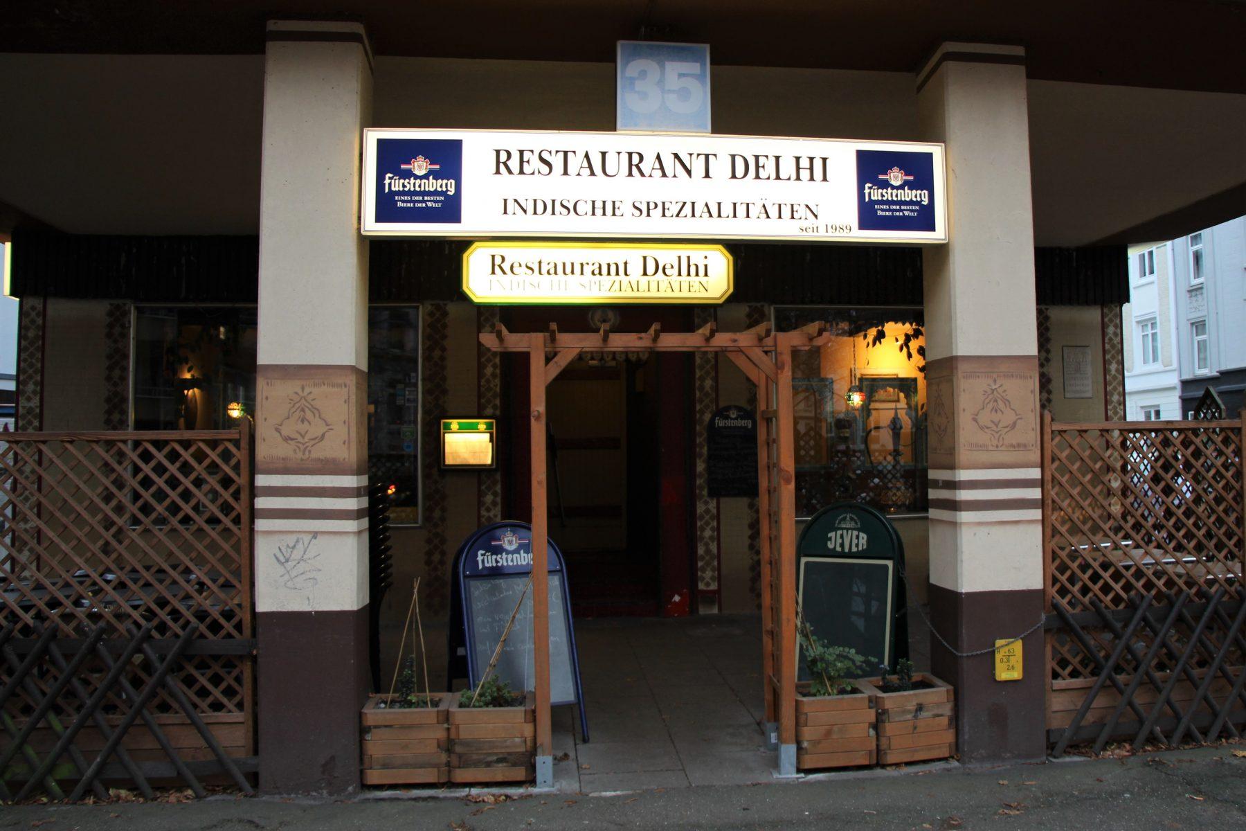 Das indische Restaurant Delhi im Stellinger Weg 35. Foto: Sophia Kleiner