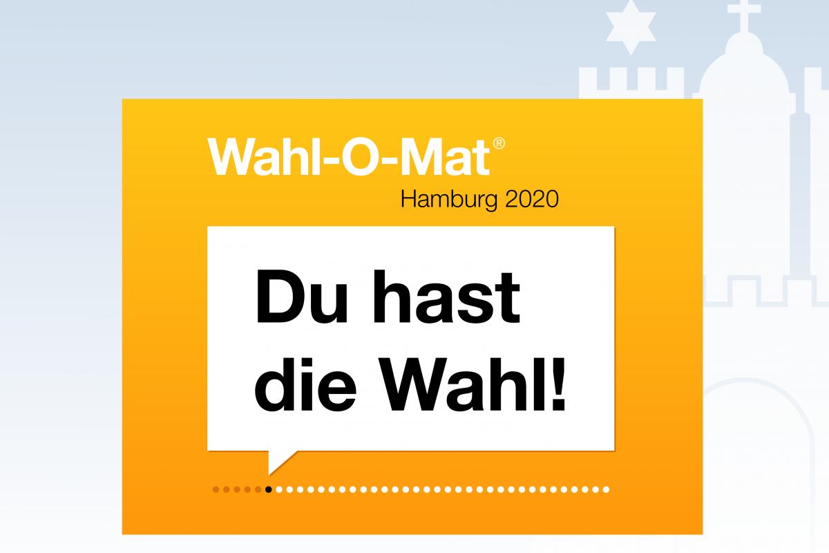 """Der """"Wahl-O-Mat"""" für die Bürgerschaftswahl ist seit heute Mittag online."""