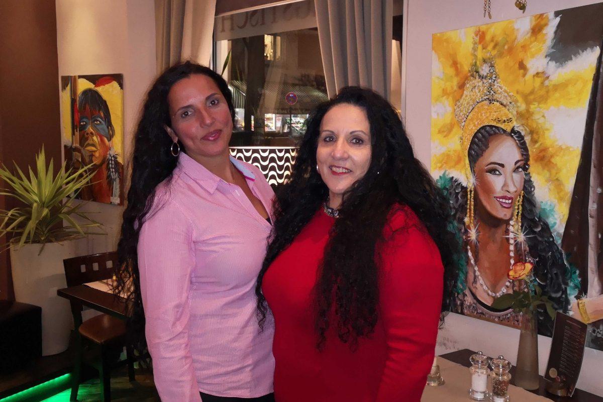 Die Inhaberin Heloise de Souza und Mutter Isabel Delfino. Foto: Sophia Kleiner