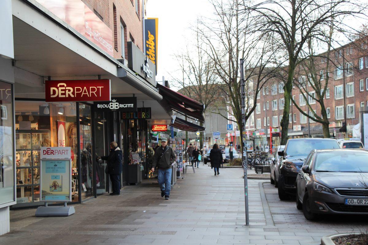 Die Flaniermeile in der Osterstraße. Foto: Alana Tongers