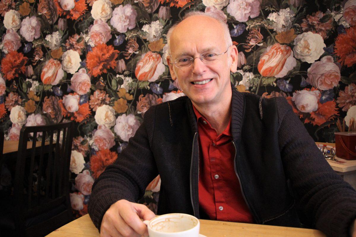 Davos Marathon ist Paul Allgäuers erstes Buch. Foto: Sophia Kleiner