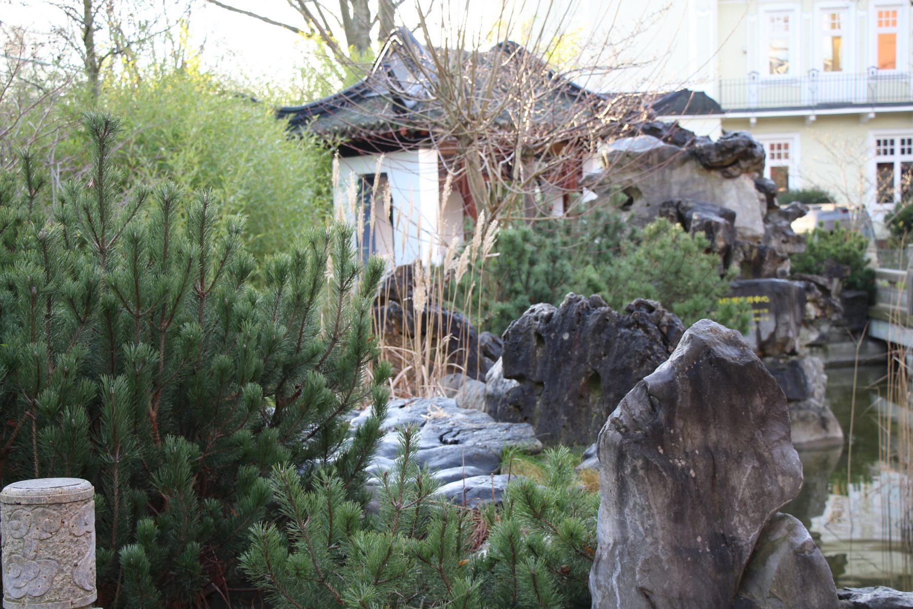 Ein Garten nach chinesischer Tradition. Foto: Sophia Kleiner