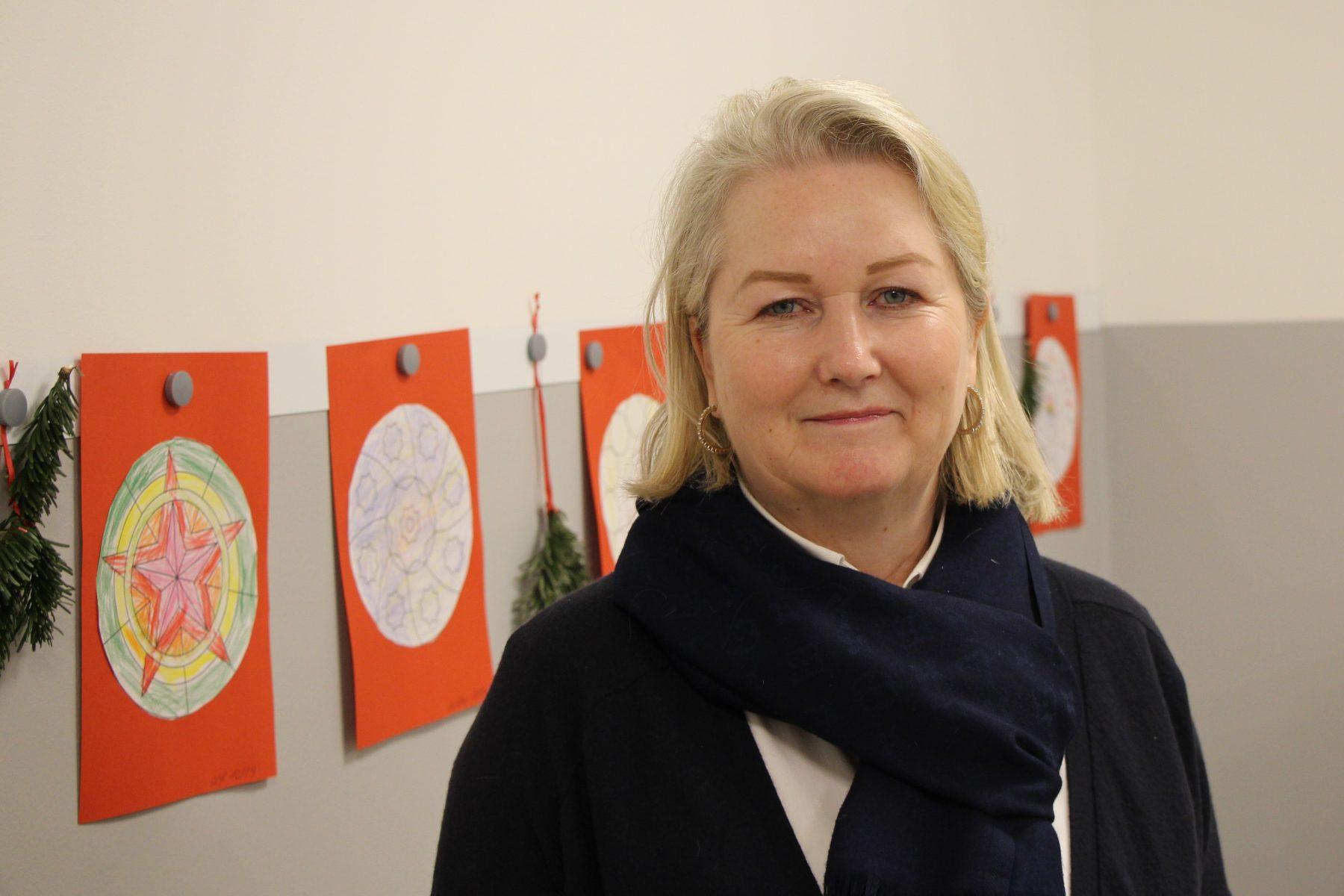 """Heike Mikulajetz ist die Leiterin der Kita """"elbzwerge"""" in Eimsbüttel. Foto: Alana Tongers"""