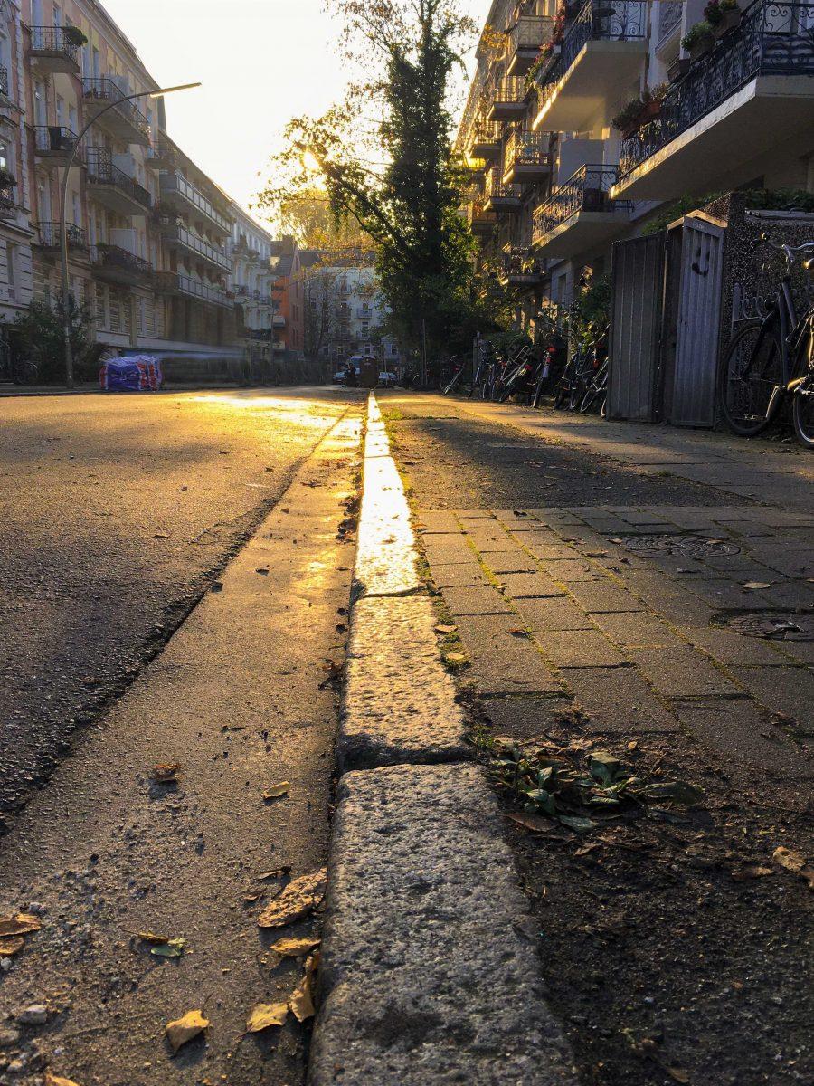 So könnte die Rombergstraße ohne Autos aussehen.