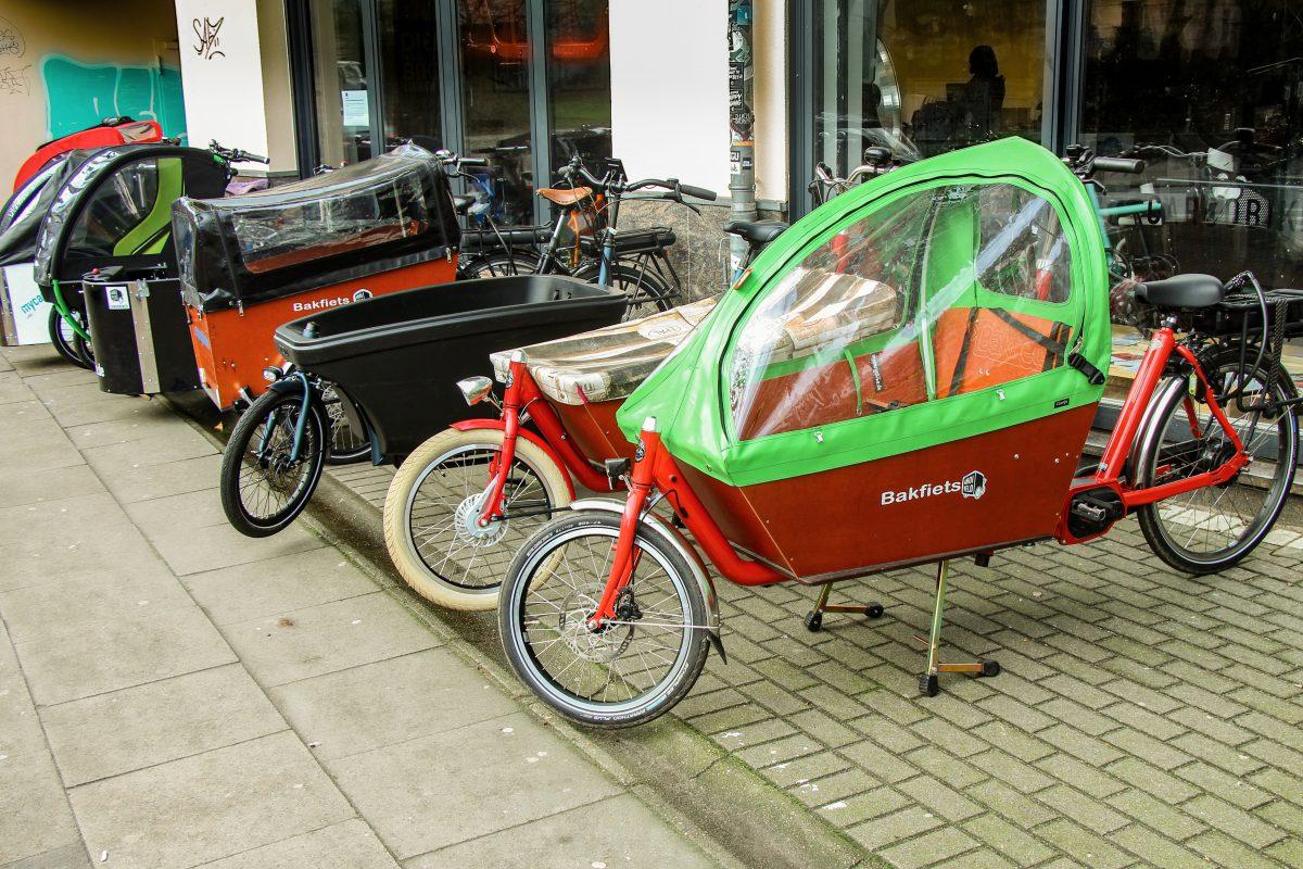 Lastenrad-Förderung geht in die zweite Runde. Foto: Fabian Sigurd Severin
