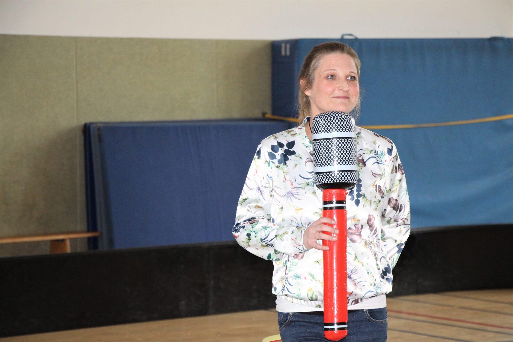 Schiedsrichterin Stefanie Wüpper. Foto: Sophia Kleiner