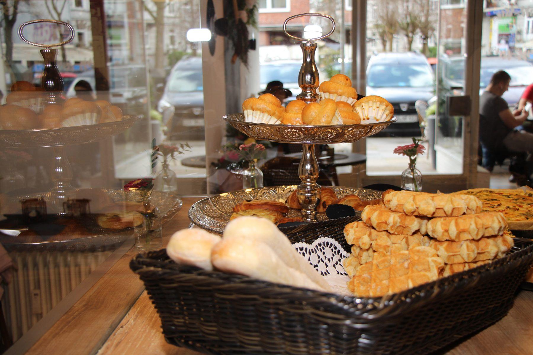 Gebäck in La Petite Boulangerie. Foto: Sophia Kleiner