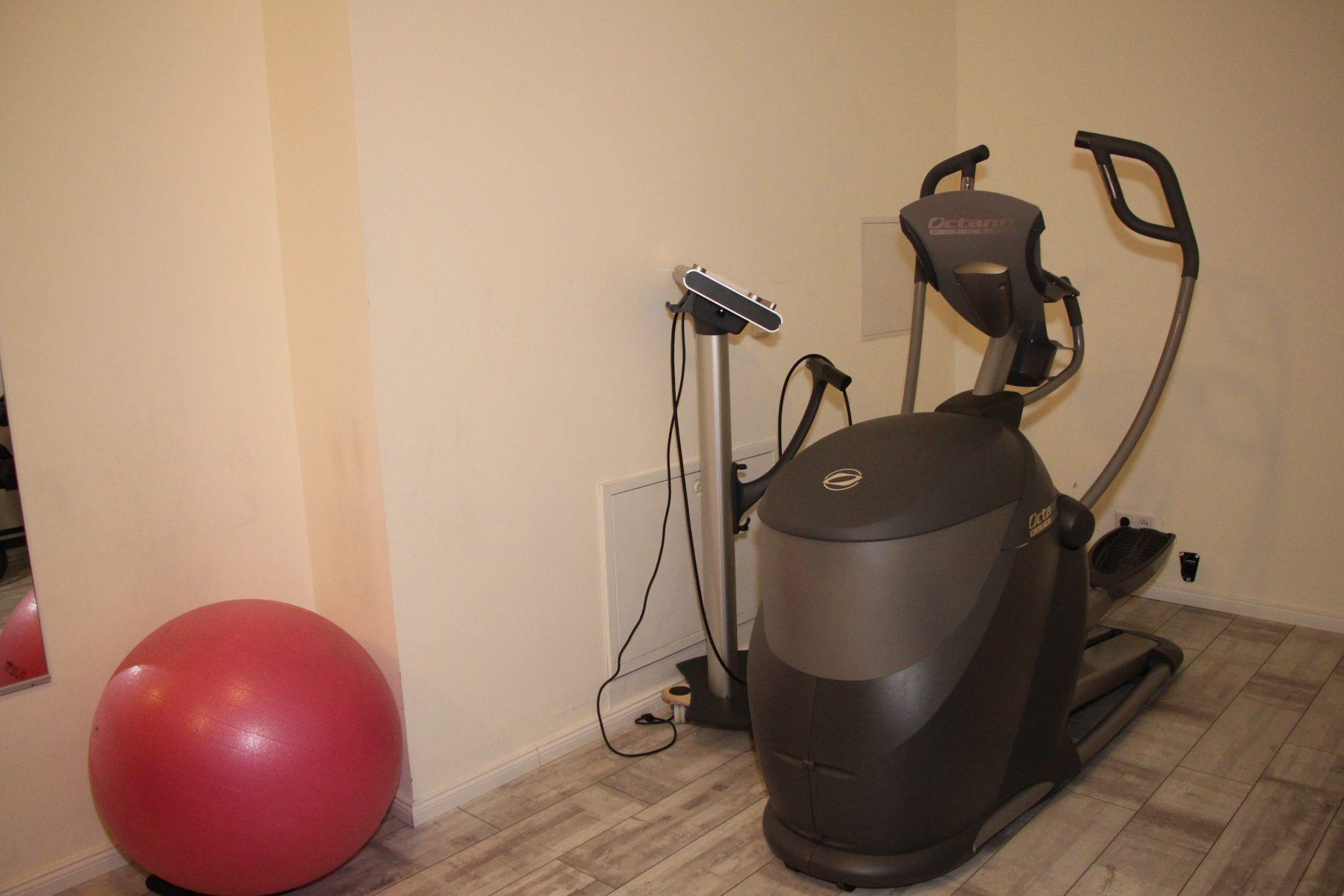 """Cardio-Training bei """"Push"""". Foto: Sophia Kleiner"""